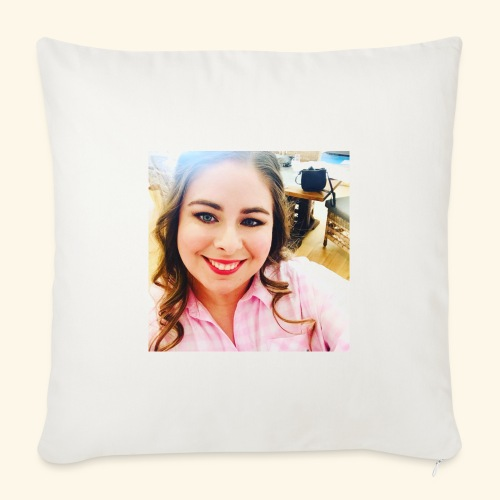 "AussieGirlGamer - Throw Pillow Cover 17.5"" x 17.5"""