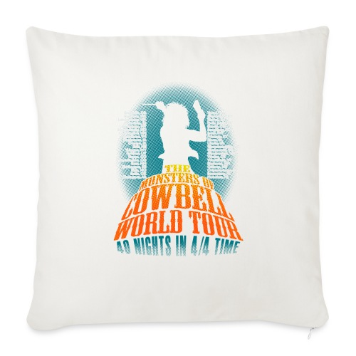 """monstersofcowbellback - Throw Pillow Cover 17.5"""" x 17.5"""""""