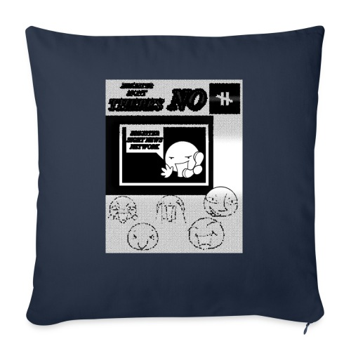 """BRIGHTER SIGHT NEWS NETWORK - Throw Pillow Cover 18"""" x 18"""""""
