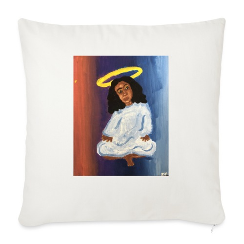 """Angel - Throw Pillow Cover 18"""" x 18"""""""
