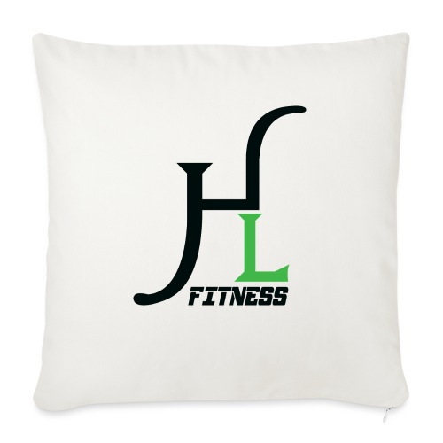 "HIIT Life Fitness Logo - Throw Pillow Cover 17.5"" x 17.5"""