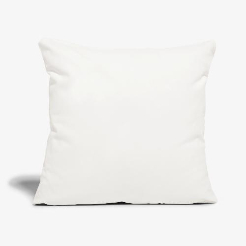 """Bestsellers white logo - Throw Pillow Cover 18"""" x 18"""""""