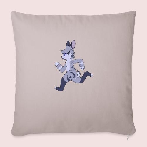 "Breezy Bunny - Throw Pillow Cover 18"" x 18"""