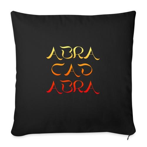 "Abracadabra - Throw Pillow Cover 18"" x 18"""