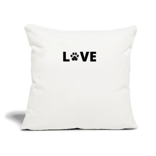 "LpawVE - Throw Pillow Cover 17.5"" x 17.5"""