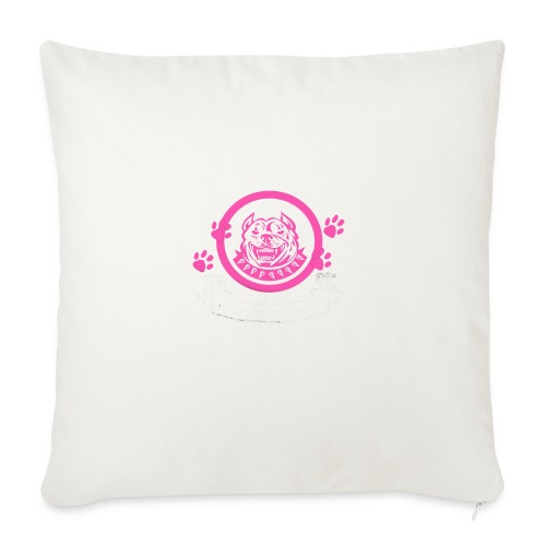 "pitbullmom - Throw Pillow Cover 18"" x 18"""