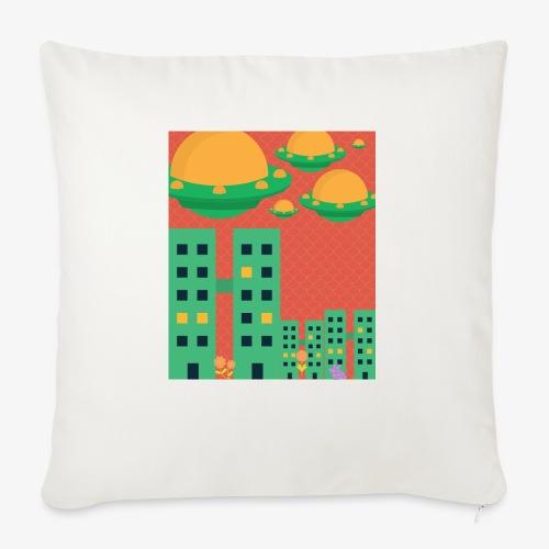 """wierd stuff - Throw Pillow Cover 18"""" x 18"""""""