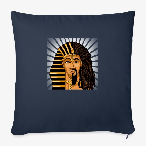 """African King DNA - Throw Pillow Cover 18"""" x 18"""""""