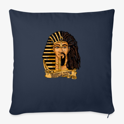 """Royalty DNA Africa - Throw Pillow Cover 18"""" x 18"""""""