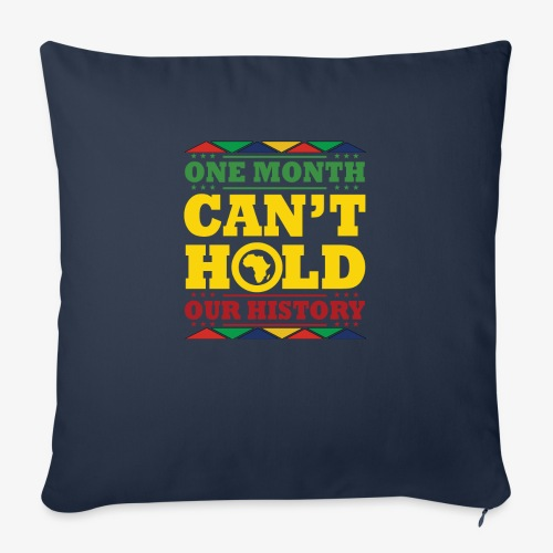 """One Month Can't Hold Us - Dashiki Pride - Throw Pillow Cover 18"""" x 18"""""""
