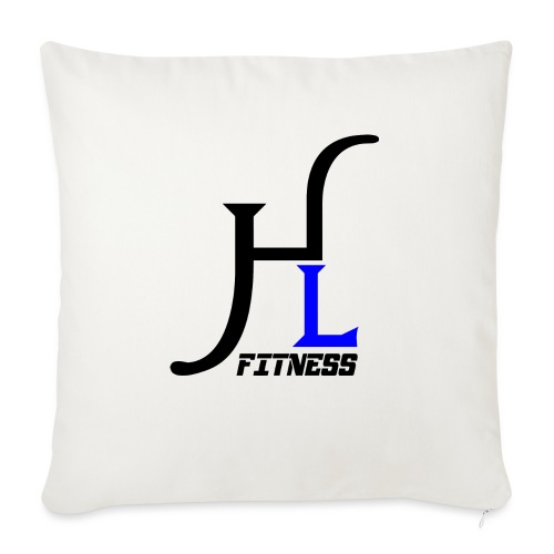 "HIIT Life Fitness Blue - Throw Pillow Cover 17.5"" x 17.5"""