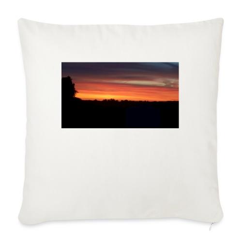 """Summer Sunset - Throw Pillow Cover 18"""" x 18"""""""