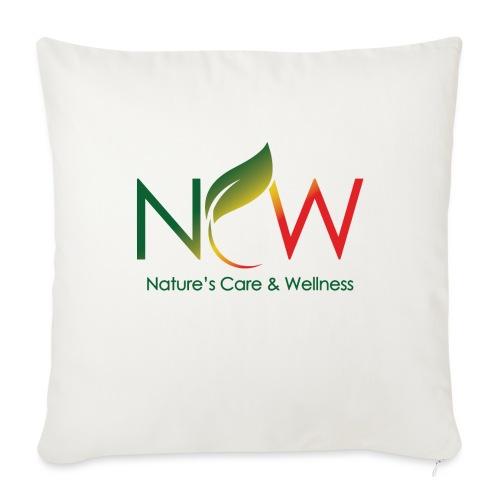 "Ncw Small Logo - Throw Pillow Cover 17.5"" x 17.5"""