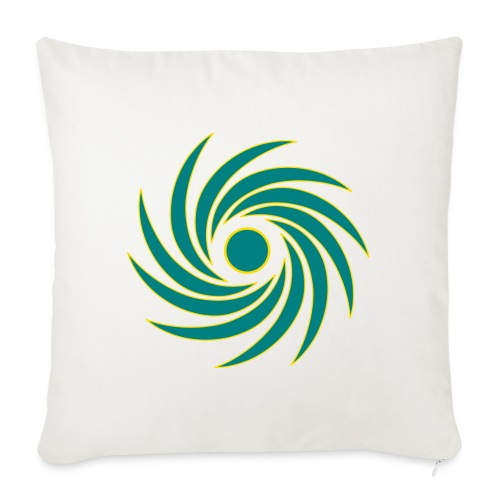 "Whirl - Throw Pillow Cover 18"" x 18"""