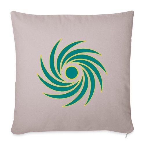 """Whirl - Throw Pillow Cover 18"""" x 18"""""""