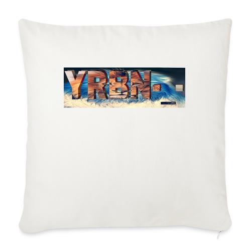 "YRBN'S Merch - Throw Pillow Cover 18"" x 18"""