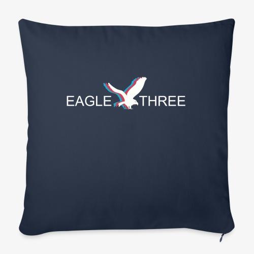 "EAGLE THREE APPAREL - Throw Pillow Cover 18"" x 18"""