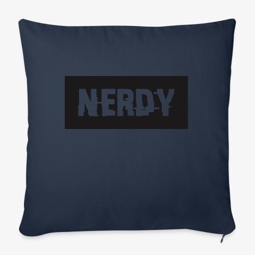 """NerdyMerch - Throw Pillow Cover 18"""" x 18"""""""