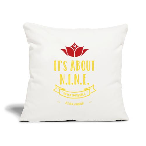 """Design loto New - Throw Pillow Cover 18"""" x 18"""""""