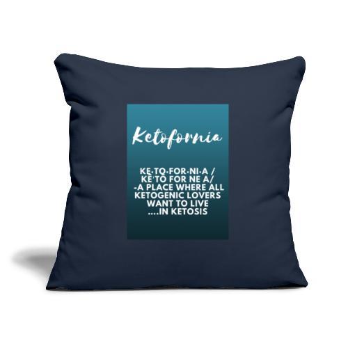 """Ketofornia - Throw Pillow Cover 18"""" x 18"""""""
