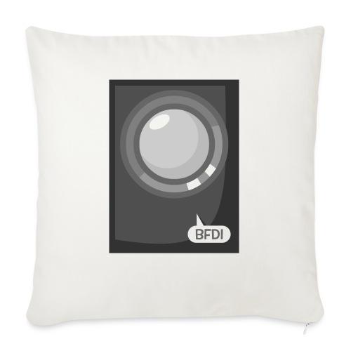 "Announcer Tablet Case - Throw Pillow Cover 17.5"" x 17.5"""