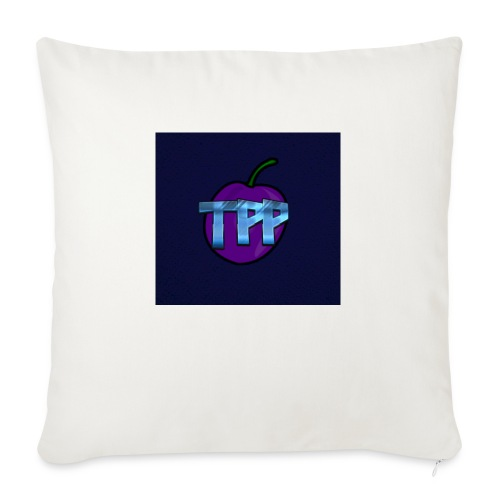 "ThePurplePrune - Throw Pillow Cover 18"" x 18"""