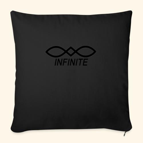 "INFINITE - Throw Pillow Cover 18"" x 18"""