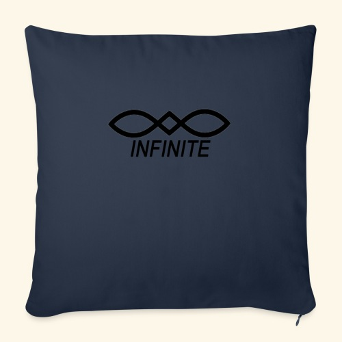 "INFINITE - Throw Pillow Cover 18"" x 18"""