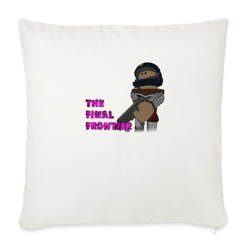 "The Final Frontier - Throw Pillow Cover 18"" x 18"""