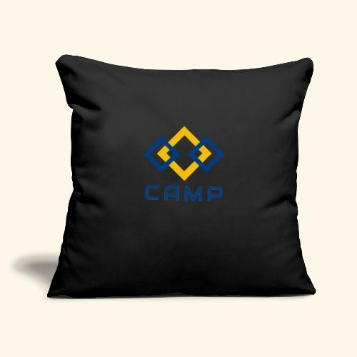 "CAMP LOGO and products - Throw Pillow Cover 17.5"" x 17.5"""
