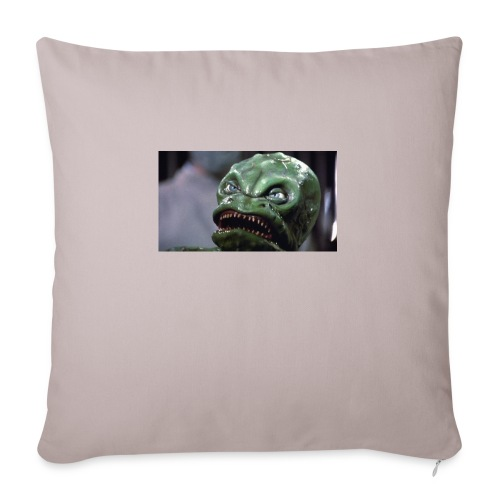 "Lizard baby from Z - Throw Pillow Cover 18"" x 18"""