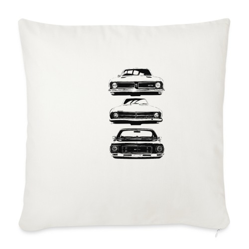 "monaro over - Throw Pillow Cover 18"" x 18"""