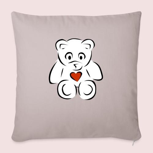 "Sweethear - Throw Pillow Cover 18"" x 18"""