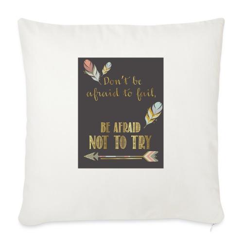 """Follow dreams - Throw Pillow Cover 17.5"""" x 17.5"""""""