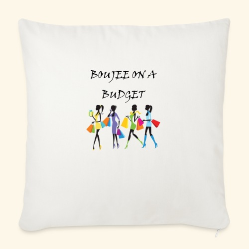 """Boujee - Throw Pillow Cover 18"""" x 18"""""""