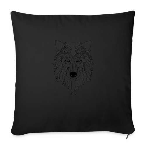 "Classy Fox - Throw Pillow Cover 18"" x 18"""