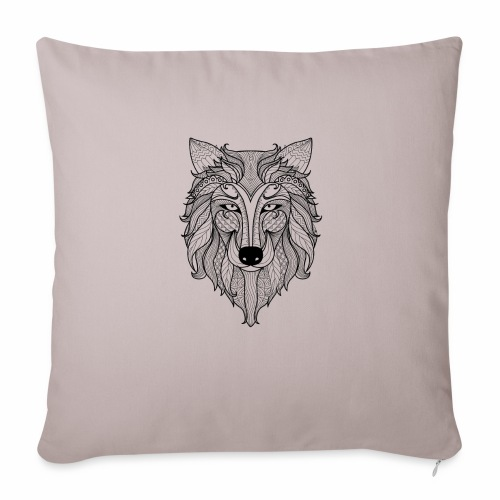 "Classy Fox - Throw Pillow Cover 18"" x 18"""