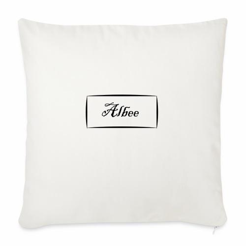 """Albee - Throw Pillow Cover 18"""" x 18"""""""