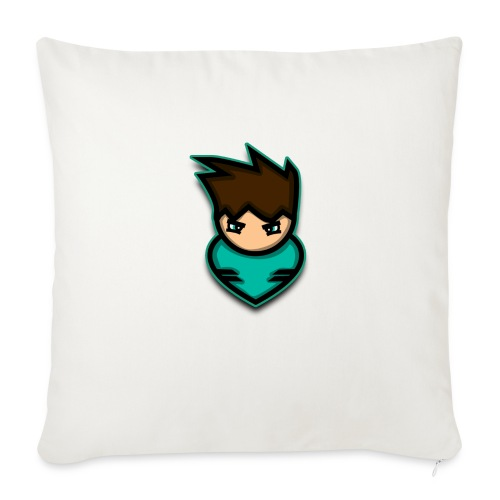 "warrior - Throw Pillow Cover 18"" x 18"""