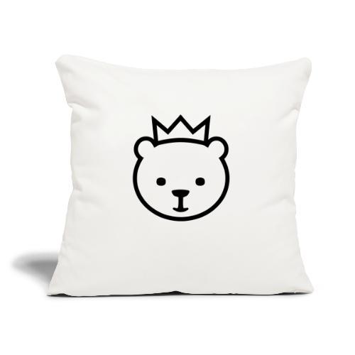 """Berlin bear - Throw Pillow Cover 17.5"""" x 17.5"""""""