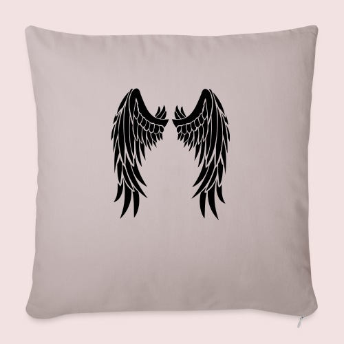 """Angel wings - Throw Pillow Cover 18"""" x 18"""""""