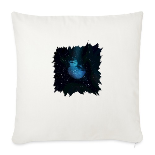 "Galaxy Duckling in Space - Throw Pillow Cover 18"" x 18"""
