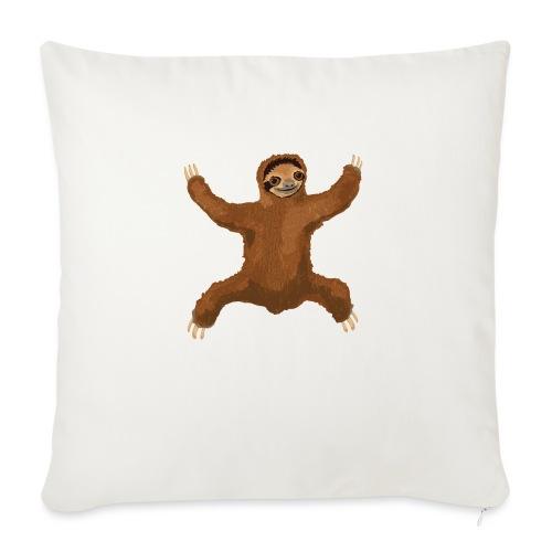 """Sloth Love Hug - Throw Pillow Cover 18"""" x 18"""""""