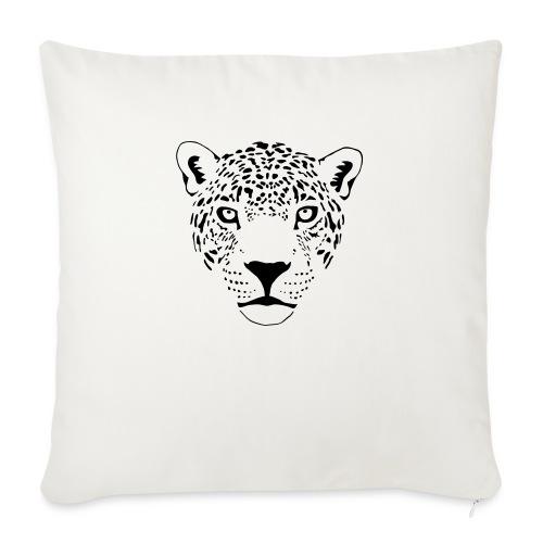 """jaguar cougar cat puma panther leopard cheetah - Throw Pillow Cover 17.5"""" x 17.5"""""""