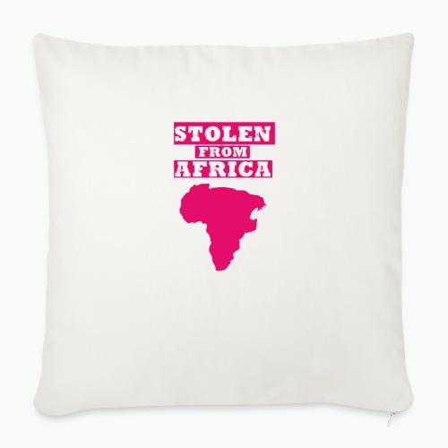 """SFA LOGO FUSCHIA - Throw Pillow Cover 18"""" x 18"""""""