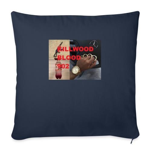 "Killwood Blood 902 - Throw Pillow Cover 17.5"" x 17.5"""