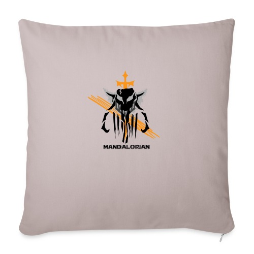 "Mandalorian Logo - Throw Pillow Cover 18"" x 18"""