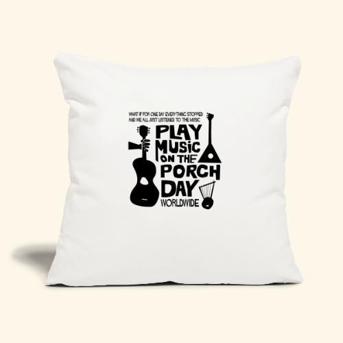"""FINALPMOTPD_SHIRT1 - Throw Pillow Cover 17.5"""" x 17.5"""""""