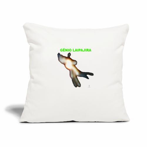 """GE NIO LAIPAJIRA - Throw Pillow Cover 17.5"""" x 17.5"""""""
