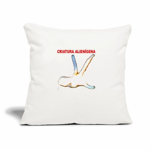 "CRIATURA ALIENI GENA - Throw Pillow Cover 17.5"" x 17.5"""